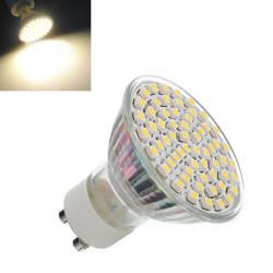 GU10 Varm Hvid 4.5W 60 SMD 3528 Spotlampe Pære Lampe AC 220-240V