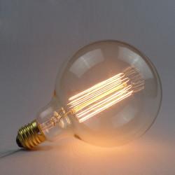 Incandescent Bulb E27 40W 220V G125 Globe Retro Edison Light Bulb