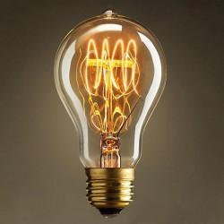Incandescent Bulb E27 40W 220V Retro Edison Style Light Bulbs