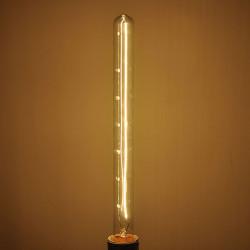 Glødepære E27 40W 220V Retro Tubular Edison Lys Pære
