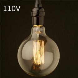 Glühlampe E27 40W AC 110V G80 Wolframfaden Edison Birne