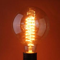 Glødepærer B22 60W 110 / 220V G95 Globe Retro Edison Lys Pære