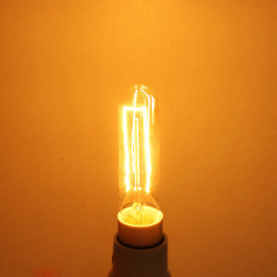 Incandescent Light Bulb E14 Edison Bulb 40W Warm White AC 220V