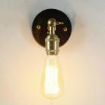 Industrial Brass Pendant Light Edison Lamp Wall Lamp Wall Lights