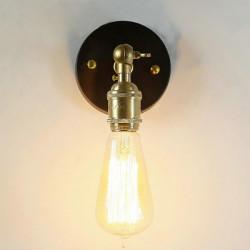 Industrielle Brass Vedhæng Lys Edison Væglampe
