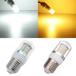 LED Corn E27 4.5W 24 SMD 5630 Vit / Varmvitt Ljus AC 85-265V