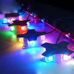 LED-Arg Star Veranda Ljus 4W Utomhusvägg Lampa Lysdiod Porch Belysning Vägglampor