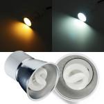 MR16 11W Varmvit / Vit Integration Lågenergilampa LED-lampa 220V LED-lampor