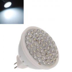 MR16 1,7 W Kallvit Energisparande 38 LED Spotlight Lampa 110-240V