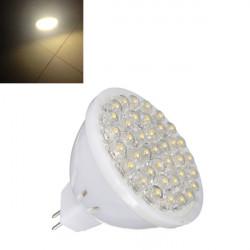 MR16 1.7W warmes Weiß der Leistungs 38 LED Spot Licht Lampen Birnen 220V