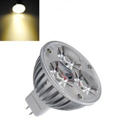 MR16 3W Warmweiß 210LM 3 LED energiesparende Punkt Glühlampe 12V