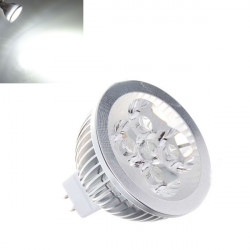 MR16 4W 360LM Pure Vit Energisparande LED Spotlight Lampa 12V