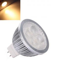 MR16 4W 360LM Varm Hvid LED Lys Lampe Pære 12V
