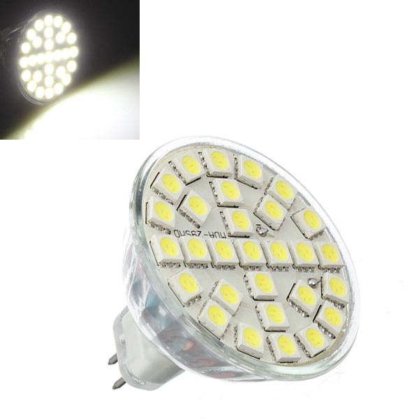 MR16 5W 480LM Pure White 29SMD 5050 High Power LED Bulb 220V LED Light Bulbs