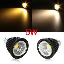 MR16 5W 500-550LM LED COB Spot Down Light Lamp Bulb AC/DC 12V