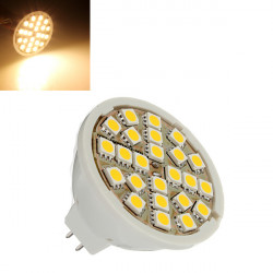 MR16 5W Warm White 24 SMD 5050 Energy Saving LED Spot Light Bulb 12V