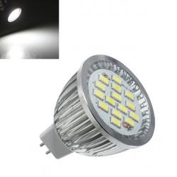 MR16 6.4W 480-530LM Pure Hvid SMD 5630 LED Spotlampe Pære 10V-18V AC