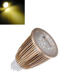 MR16 6W Warm White High Power 3 LED Spot Light Bulb lamp 12V