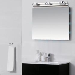 Moderne 9W Edelstahl LED Spiegellampe Badezimmer Wand Licht