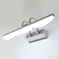 Modern Acrylic LED Mirror Picture Light Fixture Bathroom Lamp 85-265V