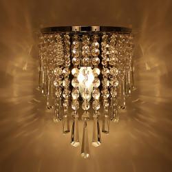 Modern Kristallkrona Vägglampa Lighting Fästanordningar 220V