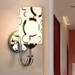 Modern E27 Brief Single Head Wall Light For Living Room Bedroom Lobby