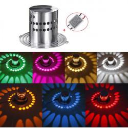 Modern High Power 3W LED Spiral Decoration Wall Light Sconce Spot