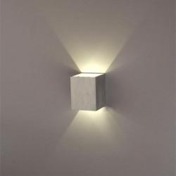 Modernes Silber 3W LED Platz Wandleuchte verbergen Installieren Licht Leuchte
