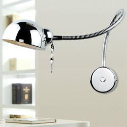 Moderne Swing Arm Wandleuchte flexibler Schlauch Spiegel Badezimmer Schlafzimmer Licht