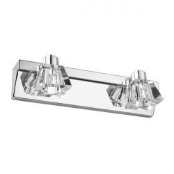 Moderne To Hoveder LED Crystal Spejl Væglampe Til Hjem Badeværelse