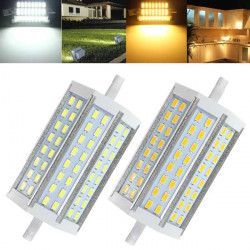 R7S 18W Icke-Dimbar 118mm 5730 48 SMD LED-lampa 85-265V