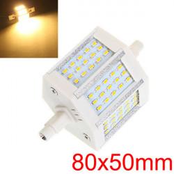 R7S 6W 450-480LM Varmvit 45 SMD 3014 LED-lampor AC 90-265V