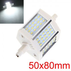 R7S 6W Pure Hvid 450-480LM 45 SMD 3014 LED-pærer AC 90-265V
