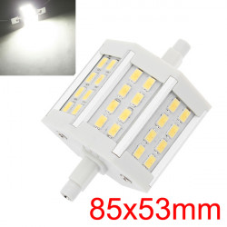 R7S 7W Pure White 600-650LM 24 SMD 5630 LED Light Bulbs AC100-265V