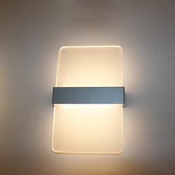 Simple Fashion Aluminum LED Væglampe Stue Soveværelse Kontor