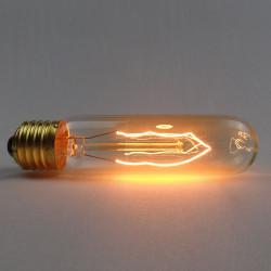 T10 E27 220V 40W Retro Edison Lampa Glödlampa