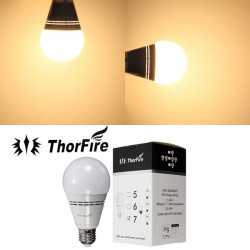 ThorFire Model-TF-E2707-1 E27 7W CREE COB LED SMD Light Bulb 85-265V