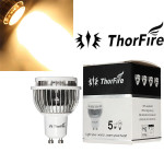 ThorFire Model-TF-GU1005-S-1 GU10 5W CREE XPE LED Light Bulb 85-265V LED Light Bulbs