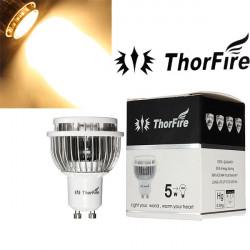 ThorFire Modell-TF-GU1005-S-1 GU10 5W CREE XPE LED-lampa 85-265V