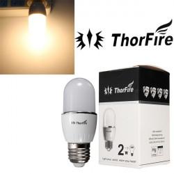 ThorFire Modell-TF-Q1 E27 2W 4 SMD 5630 LED-lampa 85-265V