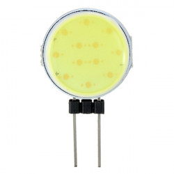 Ultra Bright G4 0.6W 150LM COB LED Vit Ljus Lampa DC 12V