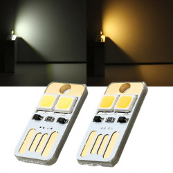 0.5W 25LM Mini Switch USB Mobile Power Camping LED Licht Lampe