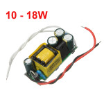 10-18W LED Driver strömförsörjning konstant ström För Bulb 85-277V