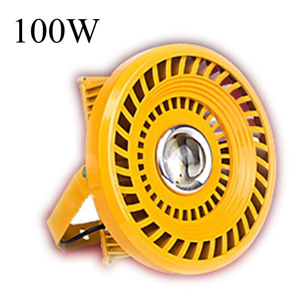 100W IP65 Ledde Fasadbelysning Explosionssäker Utomhus Gatubelysning LED-belysning