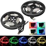 100cm Waterproof LED Strip Light TV Background Light With 5V USB Cable LED Strip