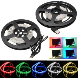 100cm Vandtæt LED Bånd Lysbånd TV Baggrund Lys Med 5V USB-kabel