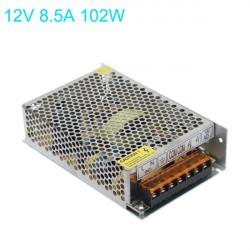 102W Nätaggregat Drivrutin för LED Slinga Ljus DC 12V AC110-220V