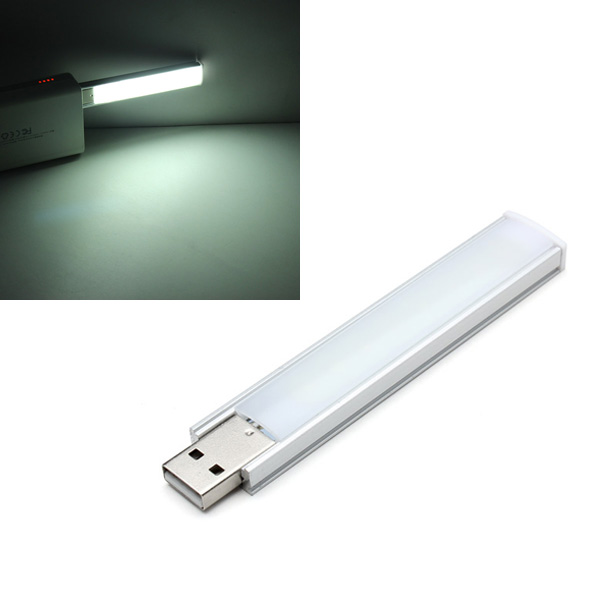10CM 1.4W 8 SMD 5152 Aluminum Shell Strip Super Bright USB LED Lights LED Strip