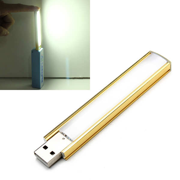 10CM 2.3W 8 SMD 5152 Super Bright USB LED Lysrör Lights LED Slingor / Ljusslingor