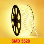 10M 3W / M 600LED SMD 3528 LED Bånd Lysbånd Vandtæt IP66 220V LED Bånd / Lysbånd